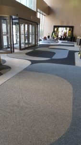 dust and floor mat